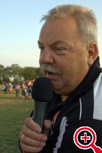 Sportverslaggever Nico Dullaart