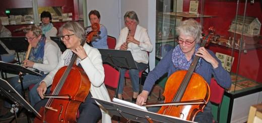 Muziek in de Tuinzaal van Streekmuseum Krimpenerwaard