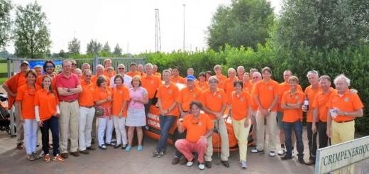 De deelnemersgroep in 2014