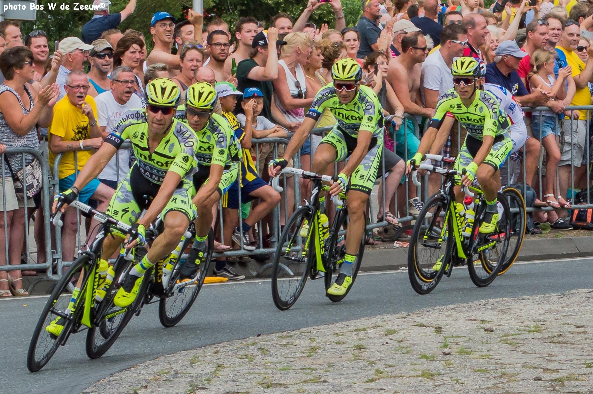 In beeld: Haastrecht loopt uit voor Tour de France - RTV ...