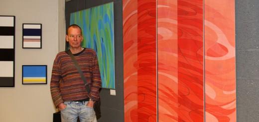 Ruud Vos (MovingLines) zaagt zijn Redness Construction in stukken voor Culturele Zondag.