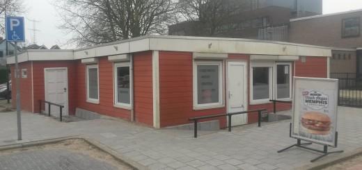 Cafetaria 'Kees Patat' aan de Poolmanweg.(Foto: Martijn Kuiler)