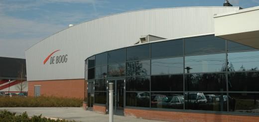 Sporthal De Boog. (Foto: gemeente Krimpen aan den IJssel)