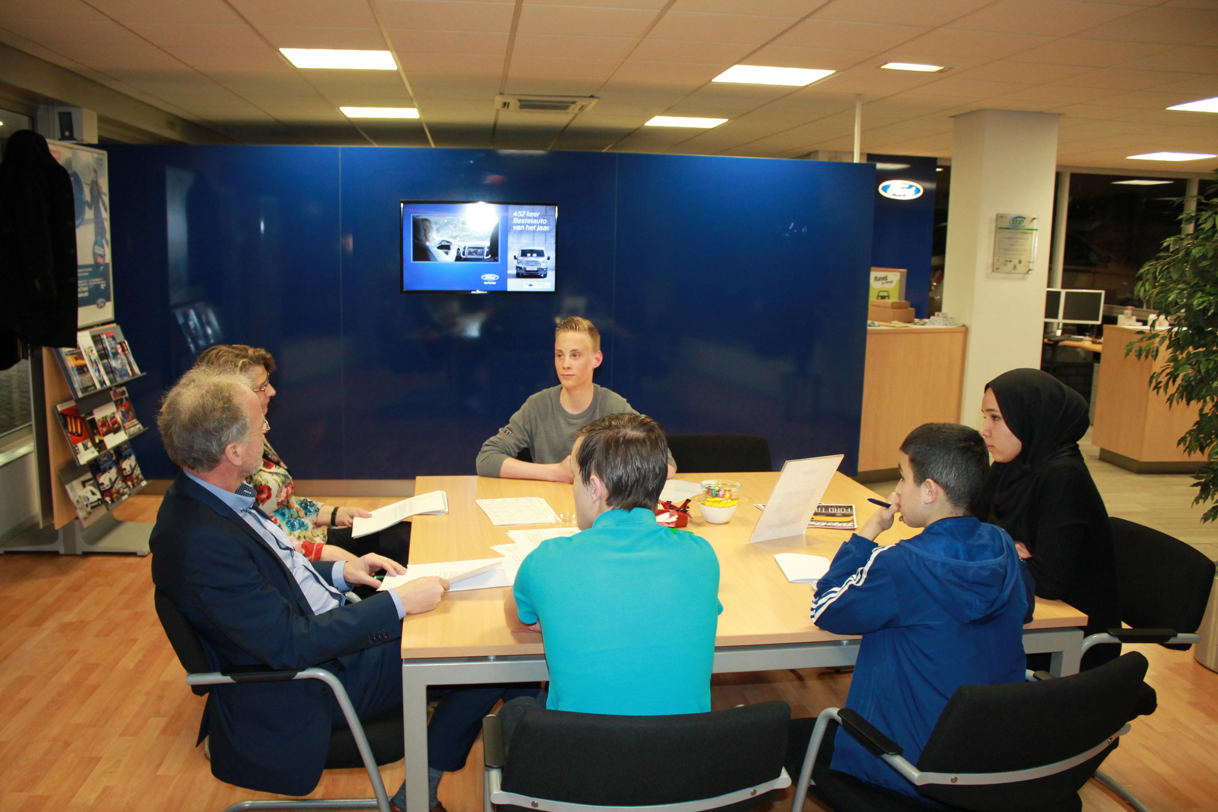 sollicitatiebrief scholieren Rotary Schoonhoven geeft sollicitatietraining aan scholieren   RTV  sollicitatiebrief scholieren