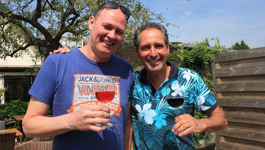 Roel Lenten en Patrick Weijnen. (Foto: OCL)