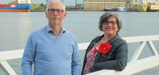 Arnold Poelman en Jeannette Bregman.