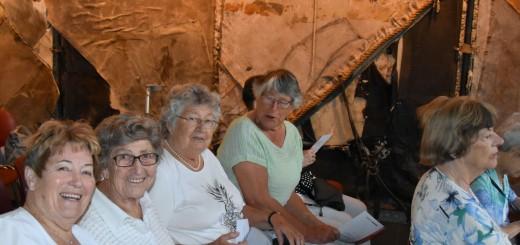Enkele van de Krimpense gasten.