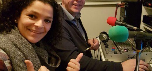 en RTV Krimpenerwaard-presentator Dirk Molenaar.