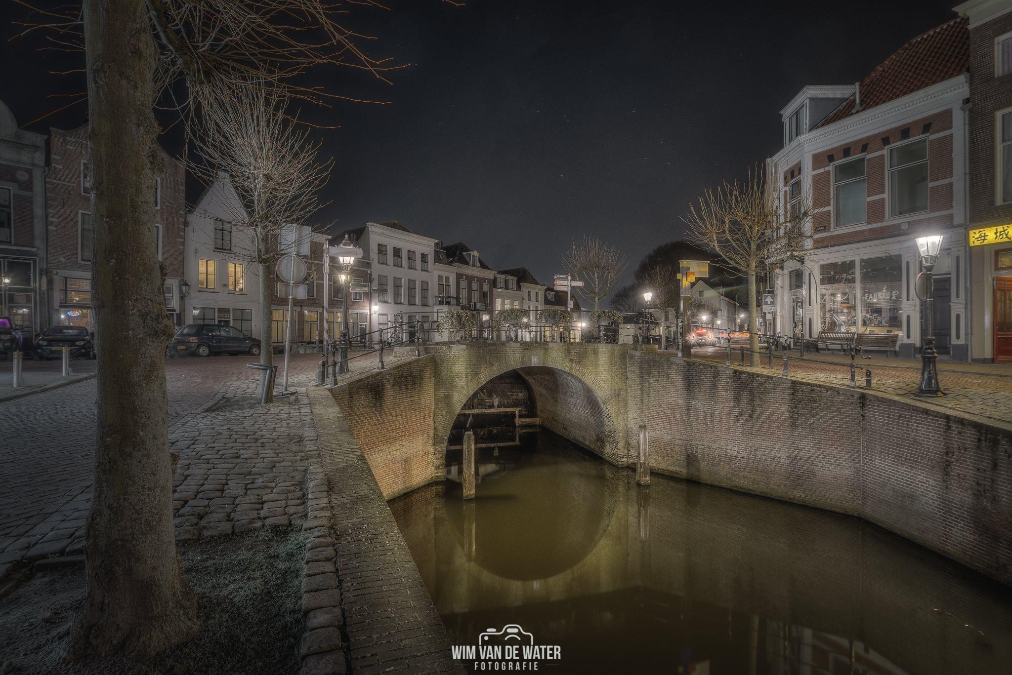Schoonhoven bij avond: Wim van de Water Fotografie