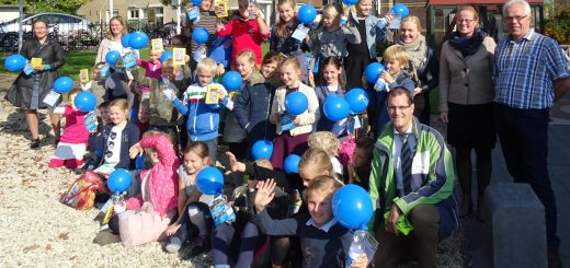 Het gemaal ontvangt de 1500e leerling in één bezoekersseizoen. (Foto:  Jaap Barendrecht)