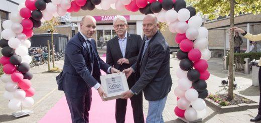 Robert Moor, René Kappers en Marco Oudshoorn. (Foto: Rob Glastra)