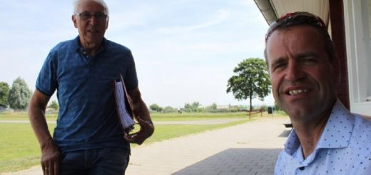 Wim van Herk (links) en Wim van der Velden. (Foto: SVN)