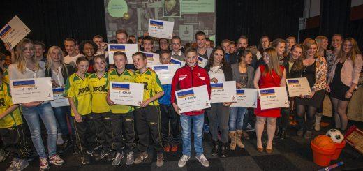 Foto winnaars Rabobank Krimpenerwaard Sportprijzen 2014-2015