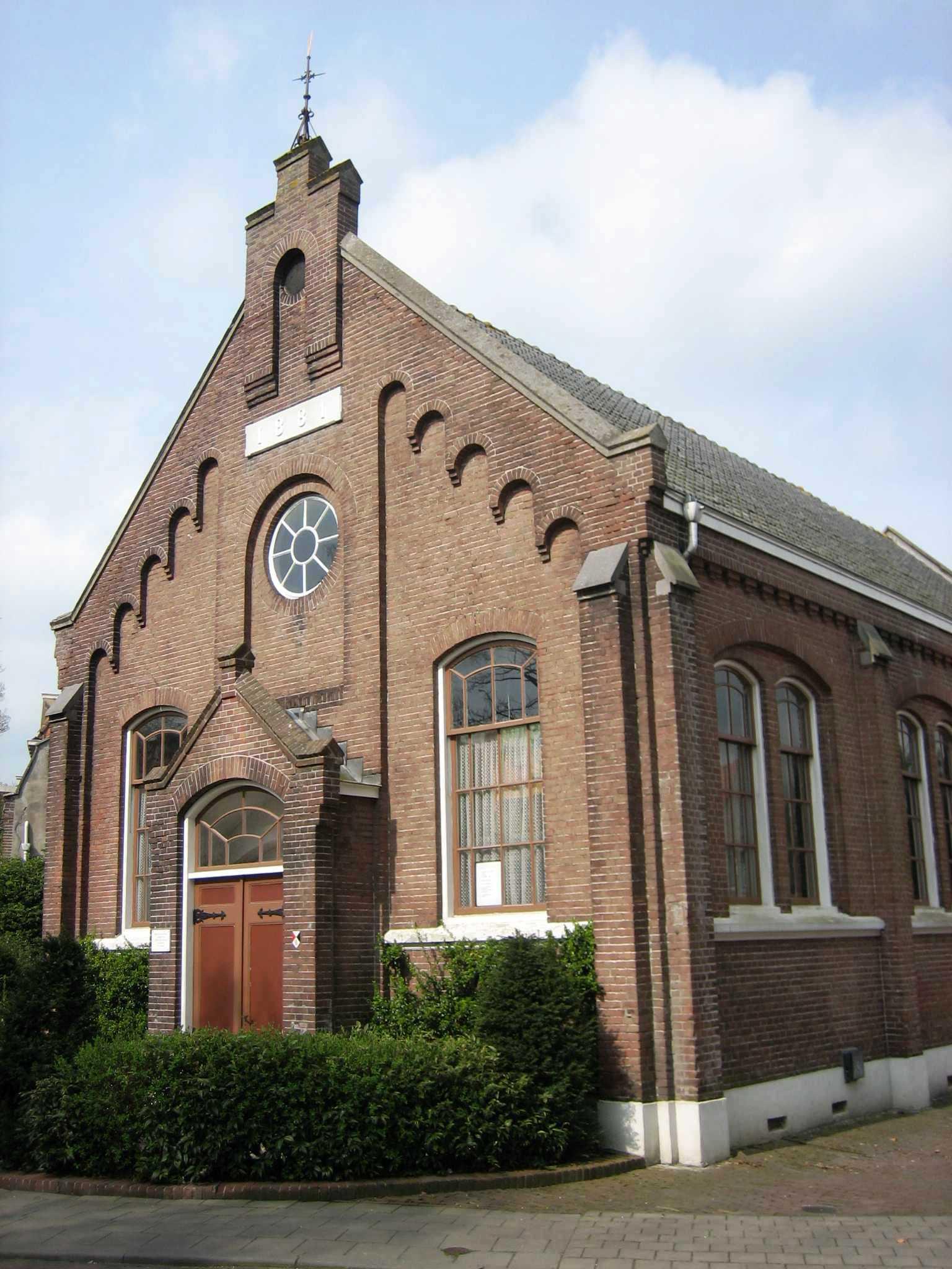 Schoonhoven_Remonstrantse_Kerk_1881