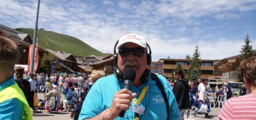 Nico Dullaart tijdens een eerdere editie van Alpe d'HuZes.