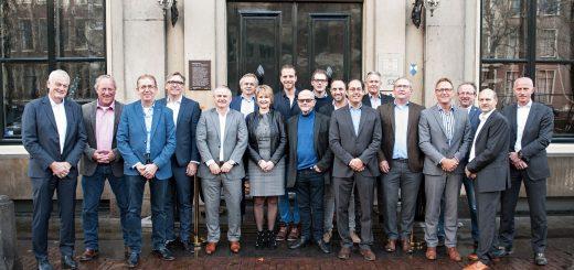 Genomineerden voor de Ondernemersprijs Midden-Holland. (Foto: John Roeland)