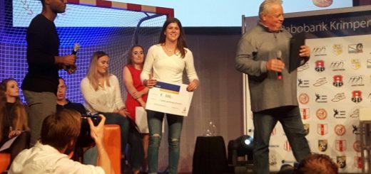 Sacha van der Weide: Sportvrouw van het Jaar. (Foto: Rabobank Krimpenerwaard)