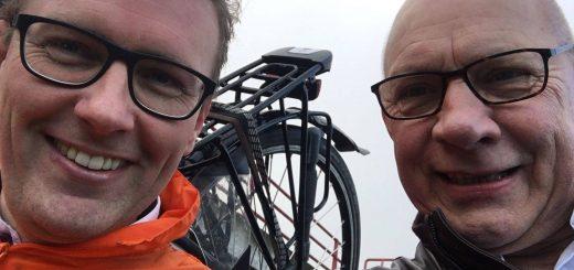 Marco Oosterwijk (links) en Aart van der Jagt.