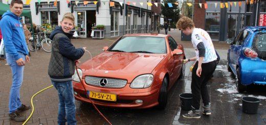 Auto's wassen voor Denis 24-03-2018 018