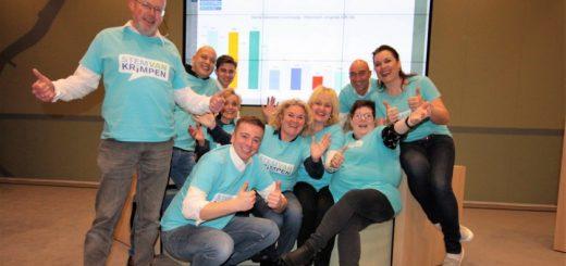 Stem van Krimpen won de gemeenteraadsverkiezingen in Krimpen aan den IJssel. De lokale partij haalde acht (!) stemmen meer dan de nummer twee: de SGP. (Foto: Floris Bakker)