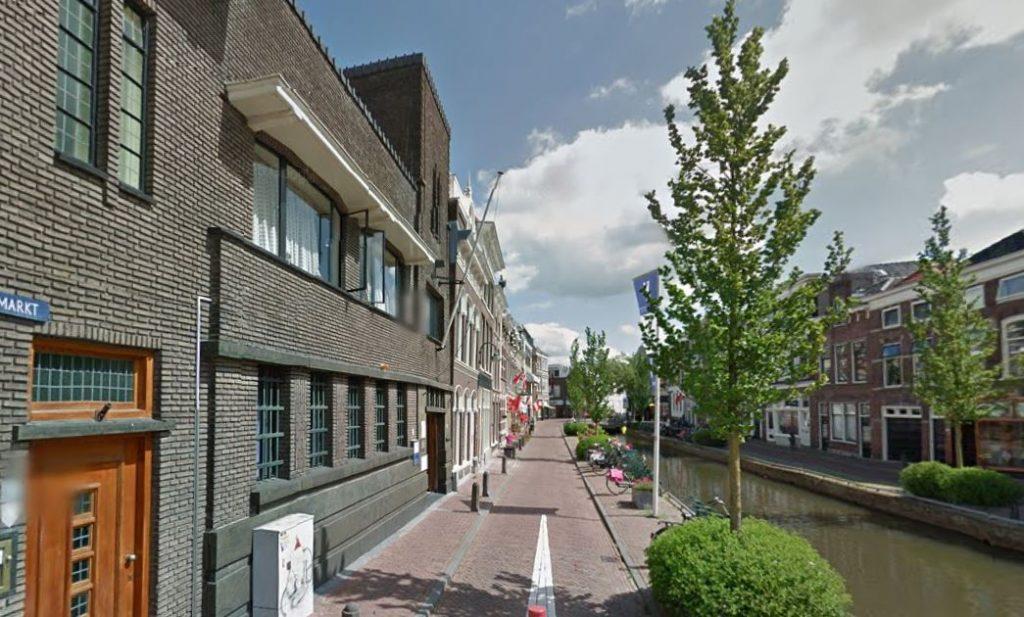 Het Verzetsmuseum Zuid-Holland aan de Turfmarkt in Gouda.