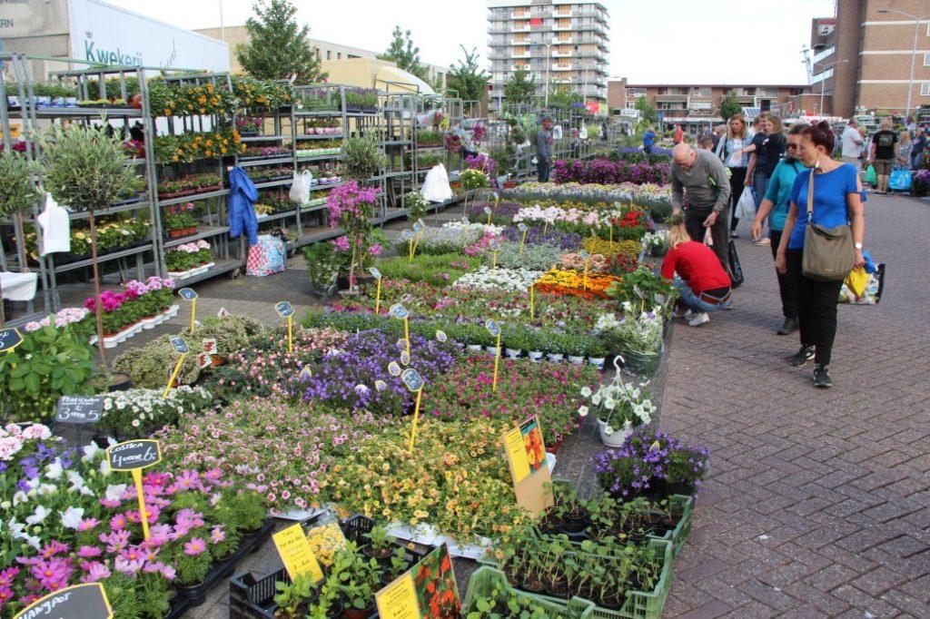 Bloemetjesmarkt Krimpen 21-05-2018 113