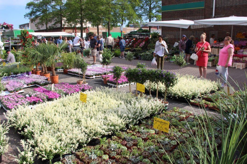 Bloemetjesmarkt Krimpen 21-05-2018 216