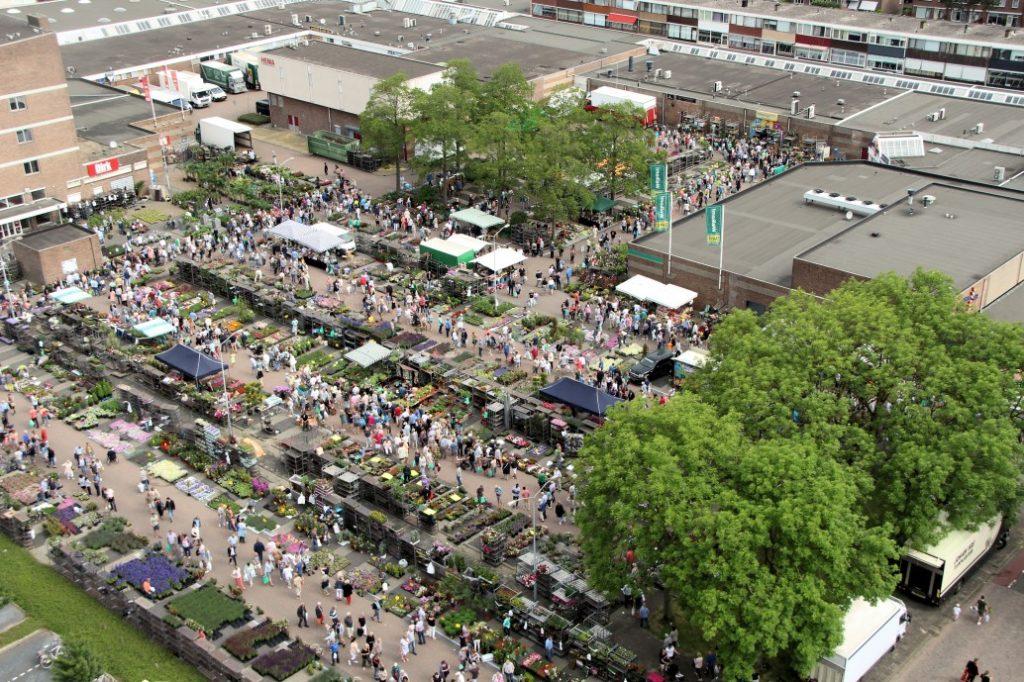 Bloemetjesmarkt Krimpen 21-05-2018 435