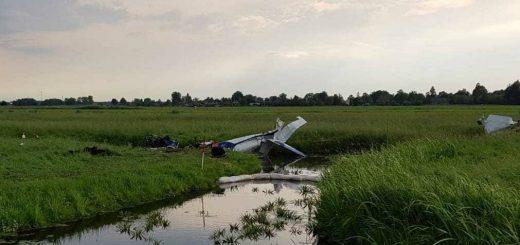 Het recente ongeval met het sportvliegtuig boven de Krimpenerwaard, waarbij in mei twee inzittenden omkwamen.