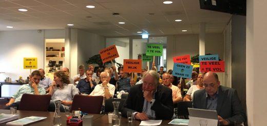 Het raadsvoorstel voor AZS terrein in Schoonhoven is teruggenomen door het college, na kritiek van insprekers en diverse fracties. (foto: gemeente Krimpenerwaard)