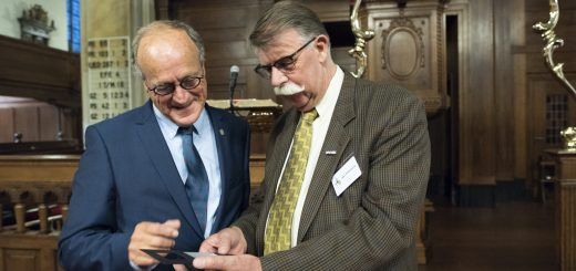 Ben Peltenburg (r) en Dick de Cloe