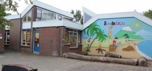 Basisschool 't Schateiland in Lekkerkerk.