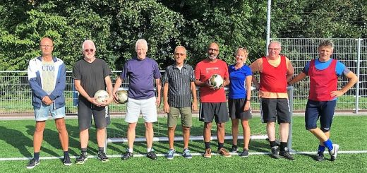Het Walking Football Team in Schoonhoven