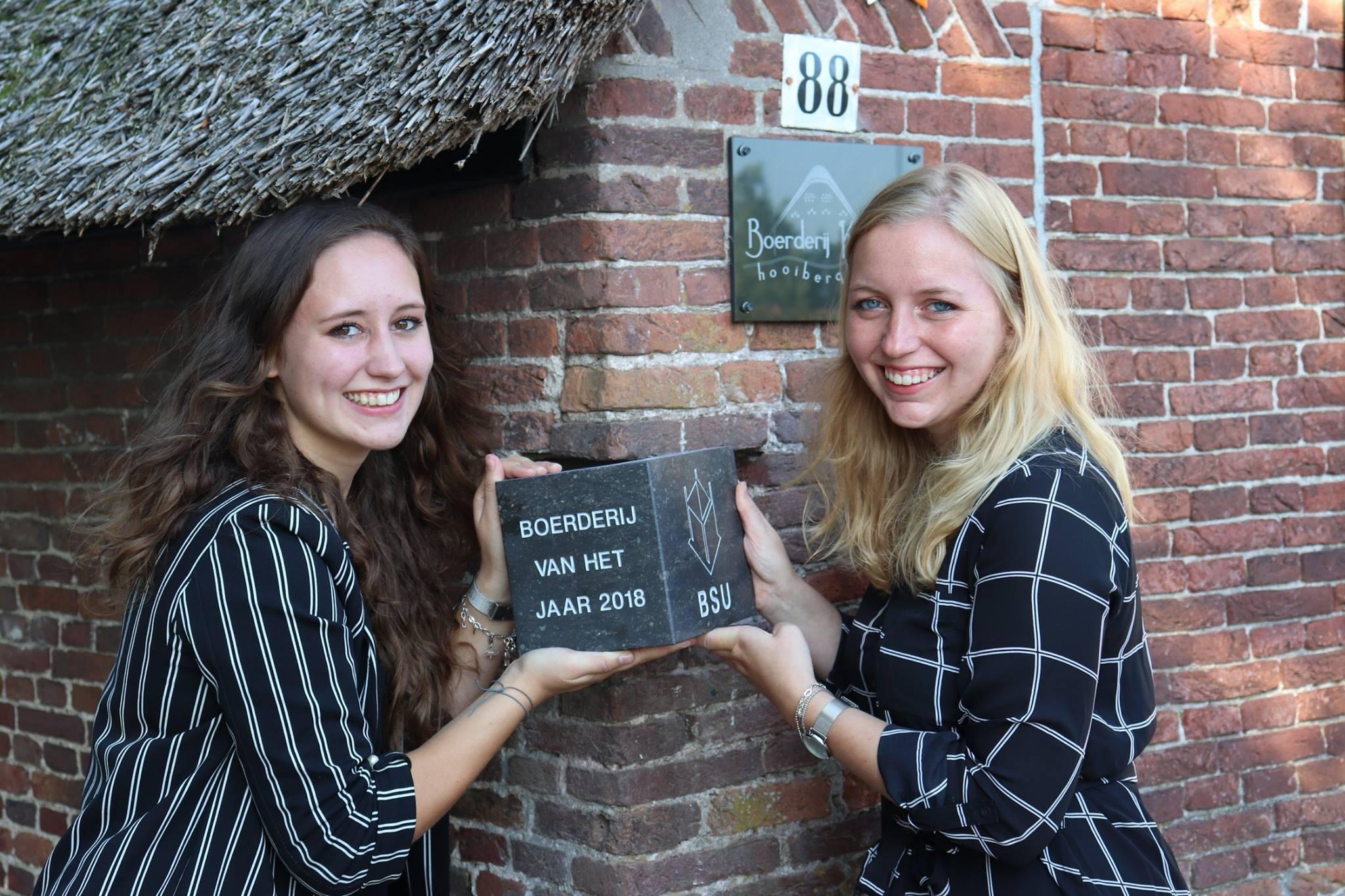 De dochters van Jan en Diny Kromwijk