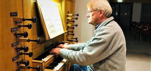 Organist Jaap den Besten