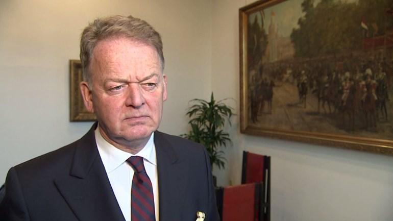 Burgemeester Roel Cazemier. (Beeld: Omroep West)