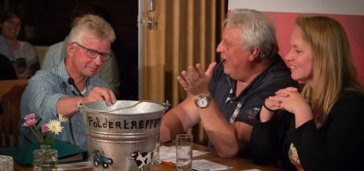 De buurtschappen Opperduit en Schuwacht strijden om de felbegeerde emmer in Poldertreffen op 4 juli.