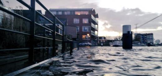 Tot het randje in Ouderkerk aan den IJssel. (Foto: Pascal Zuijderwijk)